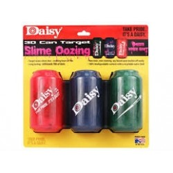 Cibles Daisy Slime Oozing 3canettes 3D effet sanglant