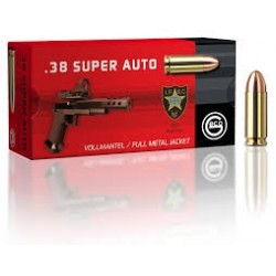 Cartouches GECO Calibre 38 Super Auto 124gr /50