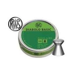 Plombs Diabolo basic RWS C. 4.5 mm /500