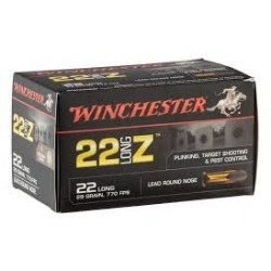 Winchester Cartouches Calibre 22 Long Z /50