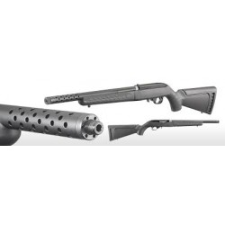 Carabine Ruger 10/22 DT lite black Take-down Calibre 22 lr