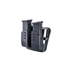 Porte Chargeur CAA Double pour Glock Cal. 9MM/.40
