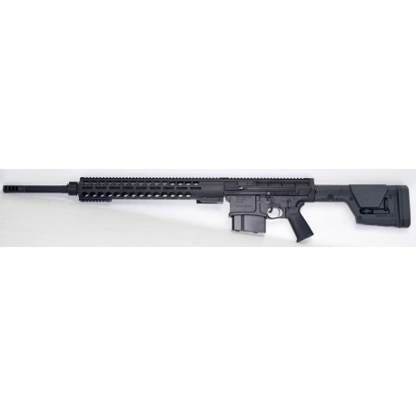 DRD TACTICAL fusil KIVAARI, 24'', finition noire - C/. 338LM